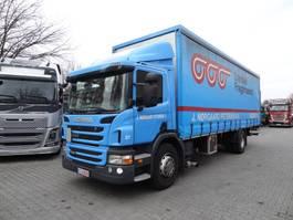 huifzeil vrachtwagen Scania P230 2013