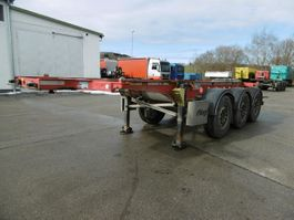 chassis oplegger Fliegl 3 Achs Container Chassis 20Fuss Alufelgen 2015