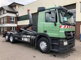 containersysteem vrachtwagen Mercedes-Benz Actros 2541 Meiller RK 20.70 AHK Euro 5 2010
