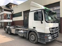 containersysteem vrachtwagen Mercedes-Benz Actros 2541 Meiller RK 20.70 AHK Euro 5 2008