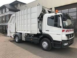 vuilniswagen vrachtwagen Mercedes-Benz Atego 1524 Geesink GPM 1222 Lifter 120/240/1.1 2007