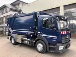 vuilniswagen vrachtwagen Mercedes-Benz Atego 1224 Mazzochia MMB Dual 8 2 Kammer Aufbau 2017