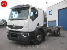 chassis cabine vrachtwagen Renault Premium 380 SLEEPER CAB 2014