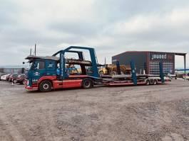 autotransporter vrachtwagen Volvo FM 420 EURO 6 / Eurolohr / LOHR ZUG /TOP ZUSTAND 2015