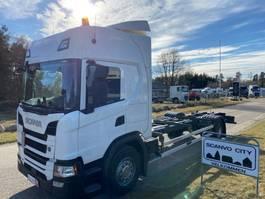 chassis cabine vrachtwagen Scania G450 B 4X2NB 2017