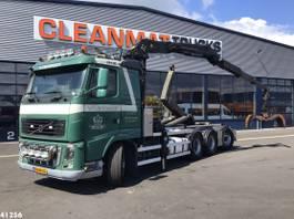containersysteem vrachtwagen Volvo FH16 8X4 Palfinger 17 ton/meter Z-kraan 2010