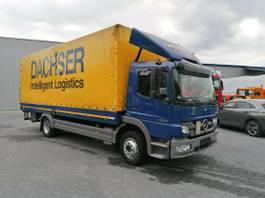 huifzeil vrachtwagen Mercedes-Benz Atego 1224 - Plane Spriegel- Euro 5- LBW- KLIMA 2013