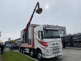 open laadbak vrachtwagen Volvo FH 540 10X4 - ONLY 247.536 KM + PALFINGER EPSILON Q170Z96 2016