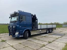 kraanwagen DAF XF 106 106.460 FAN | RETARDER | HMF 3220 | LOW KM 104.258 !!! | 6X2*4 STEERING | 2017