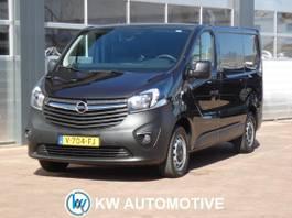 gesloten bestelwagen Opel Vivaro 1.6 CDTI L1H1 Edition AIRCO/ NAVI/ CRUISE/ PARKEERSENSOR/ ELEK-RAMEN/ ET... 2017