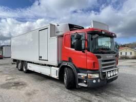 koelwagen vrachtwagen Scania P360 6X2*4, Euro 5, Carrier Supra 950 (2-zone), 2010