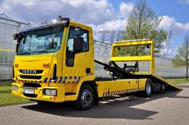 takelwagen-bergingswagen-vrachtwagen Iveco EUROCARGO ML120EL22/P De Groot 2010