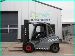 vorkheftruck Linde H45D 4,5t diesel triplex 5,45m + 4x hydrauliek 2006