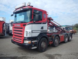 containersysteem vrachtwagen Scania R480 8x4 2007