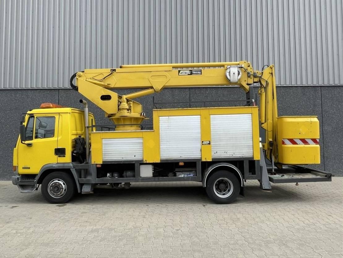 autohoogwerker vrachtwagen DAF 45-150 / Custer hoogwerker 22 mtr / 1998 / NL Truck 1998