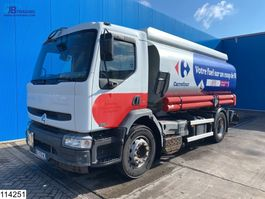 tankwagen vrachtwagen Renault Premium 270 Fuel, 14215 Liter, 4 Compartments, Manual 2006