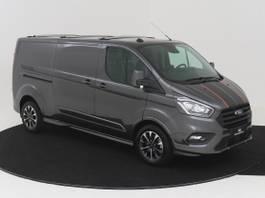 gesloten bestelwagen Ford Transit Custom 320L 2.0 TDCI 185 PK AUTOMAAT L2H1 Sport NAVIGATIE ADAPTIEVE CRUISE CONT... 2021