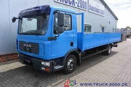 platform vrachtwagen MAN TGL 10.240 Pritsche 6.30 Mtr 2x AHK 3 Sitzplätze 2008