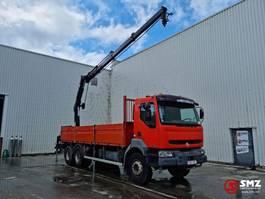 platform vrachtwagen Renault Kerax 320 DCI hiab 166 bs /3 2005