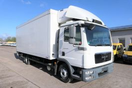 koelwagen vrachtwagen MAN TGL 12 4X2 CARRIER SUPRA 850 Trennwand LBW K 2012