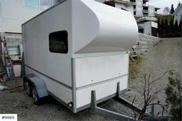 gesloten bestelwagen Brenderup Box trailer 1991