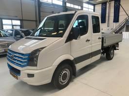 open laadbak bedrijfswagen Volkswagen crafter dubcab pick up 2013