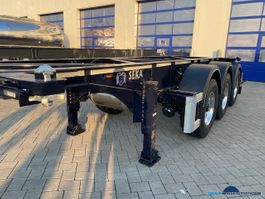 container chassis oplegger SEKA 078 LIGHT ADR 20ft tank containerchassis 2021