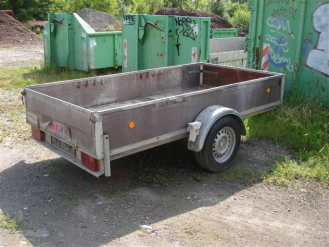 overige aanhangwagen Trebbiner Anh Pritsche TREBBINER FAHRZEUGWERK, 1.500 kg 2001