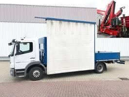 kraanwagen Mercedes-Benz Atego 1224 L 4x2 Atego 1224 L 4x2 Glastransporter, gegen Aufpreis Heckkran Fassi F9... 2013