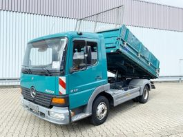 kipper vrachtwagen > 7.5 t Mercedes-Benz Atego 815 4x2 Atego 815 4x2 Standheizung 2003