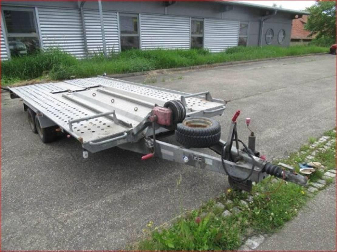 overige aanhangwagen Diversen Andere L-AT 400 T-K L-AT 400 T-K Autotransportanhänger, Seilwinde 2006