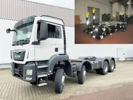 containersysteem vrachtwagen MAN TGS 35 BB 8x6 TGS 35.400 BB 8x6 Standheizung