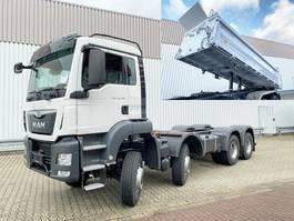 kipper vrachtwagen > 7.5 t MAN TGS 35 BB 8x6 TGS 35.400 BB 8x6 Standheizung
