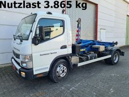 containersysteem vrachtwagen Mitsubishi Canter Fuso 7C15 4x2 Canter Fuso 7C15 City Abrollkipper 2014