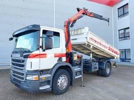overige bouwmachine Scania P230 CB 4x2 P230 CB 4x2 mit Kran Palfinger PK 11001 2012