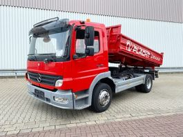kipper vrachtwagen > 7.5 t Mercedes-Benz Atego 1218 K 4x2 Atego 1218 K 4x2 Tempomat/R-CD 2007