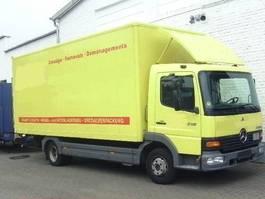 bakwagen vrachtwagen Mercedes-Benz Atego 815 4x2 Klima/Umweltplakette gelb 2003