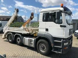 containersysteem vrachtwagen MAN TGA 26 6x4H/4 BL TGA 26.400 6x4H/4 BL, HydroDrive, Vorlauflenk-/Liftachse 2007
