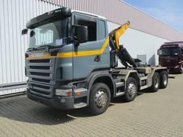 containersysteem vrachtwagen Scania R420 CB8x4MNZ R420 CB8x4MNZ, Retarder Klima/R-CD 2005