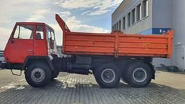 kipper vrachtwagen > 7.5 t Steyr Andere 1491 6x4 SHD 1975