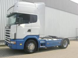 standaard trekker Scania R470 124 4x2 124R470 4x2, Kipphydraulik Klima 2003