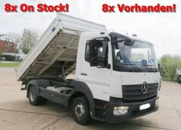 kipper vrachtwagen > 7.5 t Mercedes-Benz Atego 818 K 4x2 Atego 818 K 4x2, 8x Vorhanden! 2017