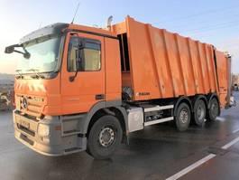 vuilniswagen vrachtwagen Mercedes-Benz Actros 3241 L 8x2 Actros 3241 L 8x2, Retarder, 2x Lenkachse, FAUN Powerpress 2009