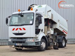 Veegmachine vrachtwagen Renault Midlum 220 DCI Semat A500 5m3 Veeg/zuigwagen, Kehrmaschine/Vakuum-LKW, Sweeper/vacu... 2003