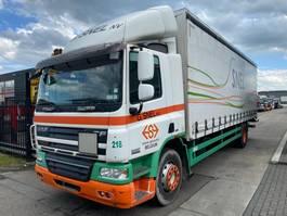 schuifzeil vrachtwagen DAF CF 75 4X2 EURO 5 + LAADKLEP 2007