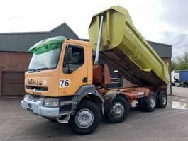 kipper vrachtwagen > 7.5 t Renault Kerax 385 8x4 Kipper - Full Steel - Euro 2/Manual Injector - 1999 - 5786 1999