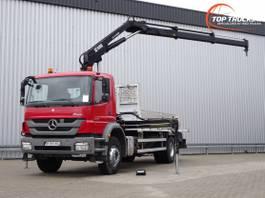 kraanwagen Mercedes-Benz Axor 1829 Hiab 14TM Kraan, Crane, Kran - Remote control - Euro 5 2013