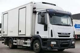 koelwagen vrachtwagen Iveco EuroCargo 120 120E25 Kühlkoffer LBW Bi-Temperatur E5 2009