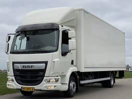 bakwagen vrachtwagen DAF LF 230.12. EURO6.  05-2018 710x249x240 Aut. Airco. Bakwagen met Laadklep. 2018