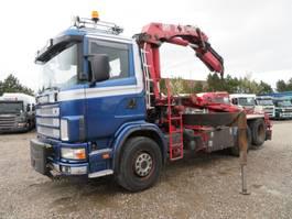 kipper vrachtwagen > 7.5 t Scania 124/470 6x2 HMF2223K5 Full Spring 2004
